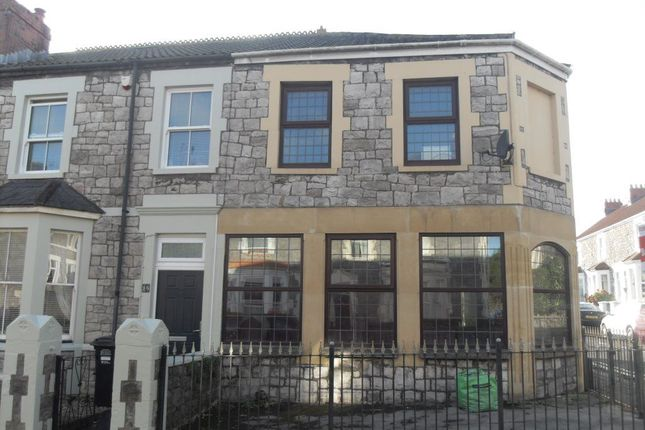 Thumbnail Terraced house to rent in Coronation Road, Worle, Weston-Super-Mare