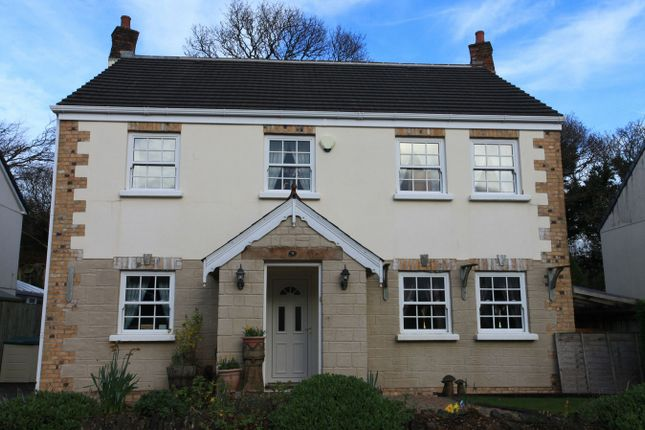 Thumbnail Detached house for sale in The Meadow, Polgooth, St. Austell, Cornwall