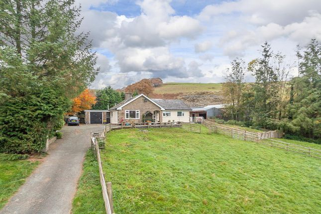 Thumbnail Detached bungalow for sale in Maesmynis, Builth Wells