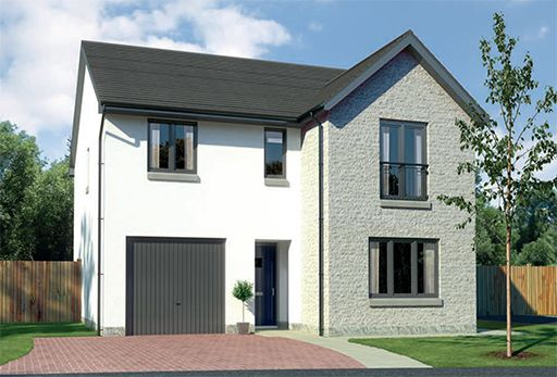"Thumbnail Detached house for sale in ""Glenmore"" at Old Lang Stracht, Kingswells, Aberdeen"