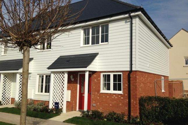 Thumbnail End terrace house to rent in Finberry, Ashford