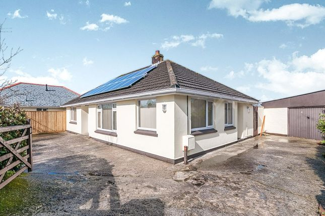 Thumbnail Bungalow for sale in Roskear Road, Camborne