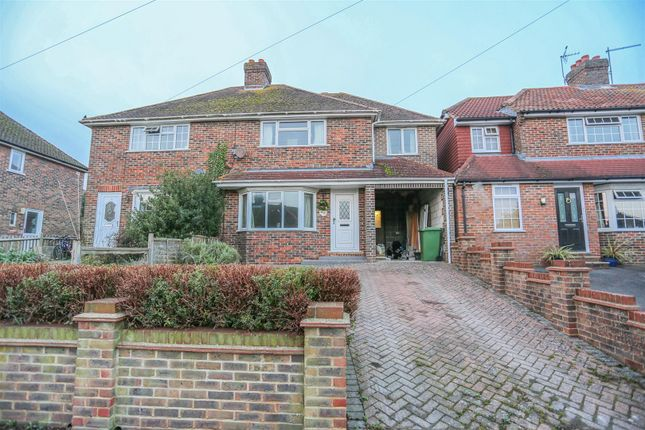 4 bed semi-detached house for sale in Hamsey Crescent, Lewes