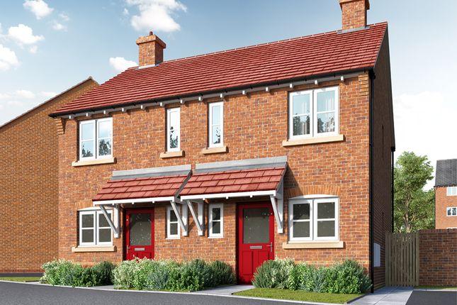 Thumbnail End terrace house for sale in Orleton Lane, Telford, Shopshire