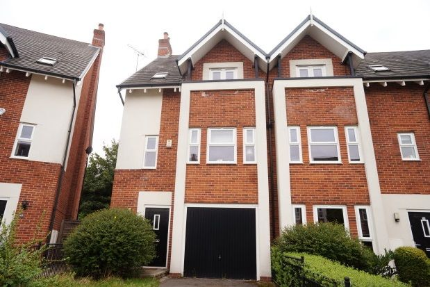 Thumbnail Town house to rent in Houseman Crescent, West Didsbury