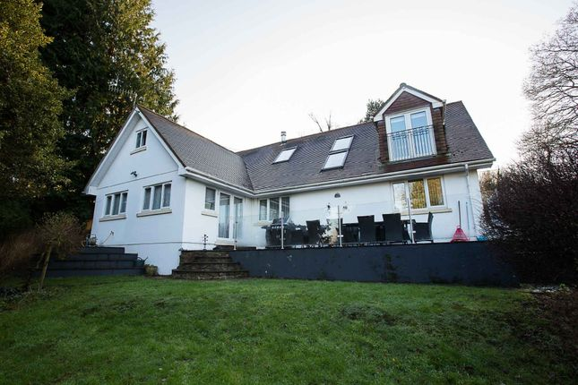 Thumbnail Detached house for sale in Delamere, Rudry, Caerphilly