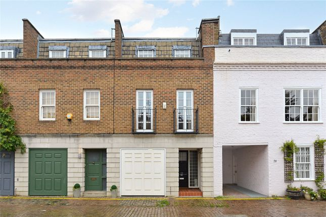 Thumbnail Mews house for sale in Cresswell Place, London