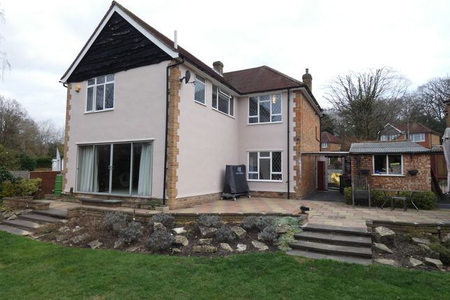 Thumbnail Detached house to rent in Fairfield Drive, Frimley, Surrey