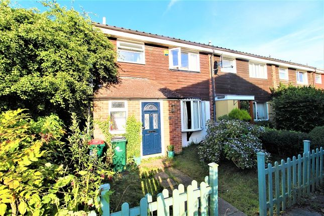 Thumbnail End terrace house for sale in Pegwell Close, Crawley, West Sussex.