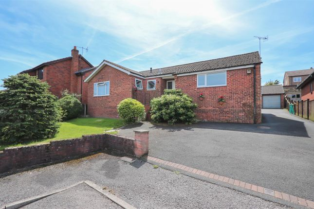 Thumbnail 4 bed detached bungalow for sale in Woodland Walk, Linacre Woods, Chesterfield