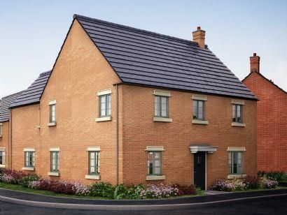 Thumbnail Detached house for sale in Carpenters Place, Former Sawmills, Northampton Road, Brackley