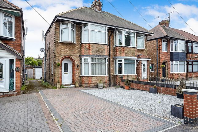 Thumbnail Semi-detached house for sale in Boothferry Road, Hessle