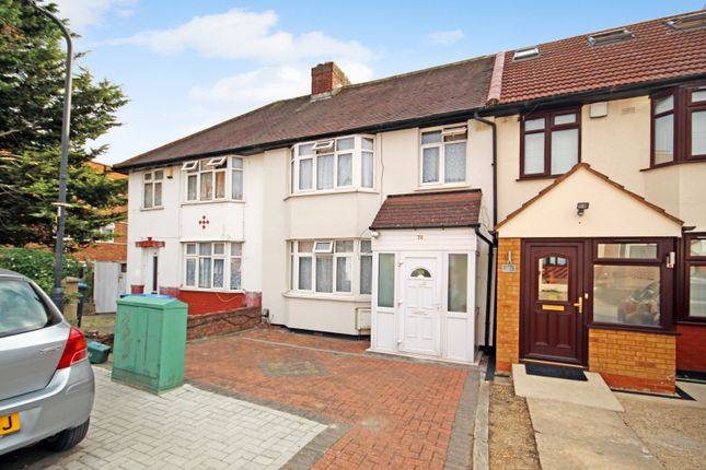 4 bed terraced house for sale in Sunleigh Road, Wembley, Middlesex HA0