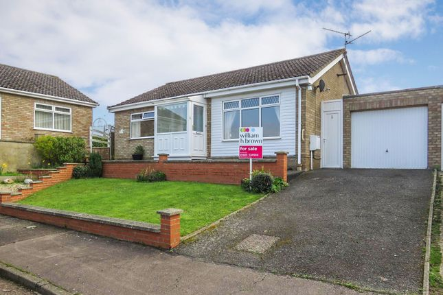 Thumbnail Detached bungalow for sale in St Marys Close, Snettisham, King's Lynn