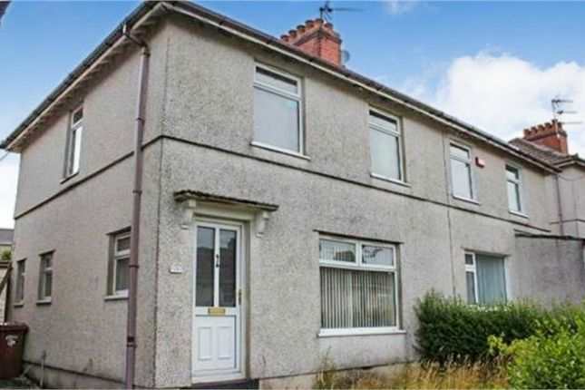 Thumbnail Semi-detached house for sale in Penrhiw Avenue, Oakdale, Blackwood, Caerphilly