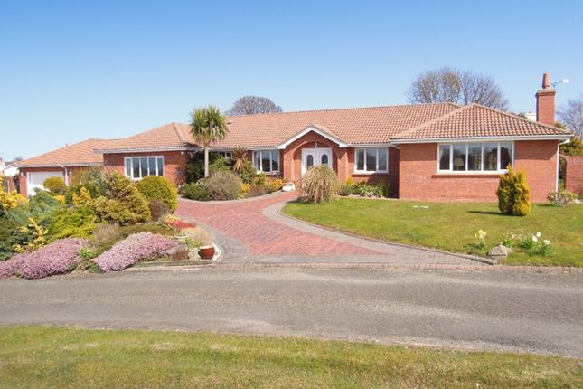 Thumbnail Detached bungalow for sale in Westhill Village, Ramsey