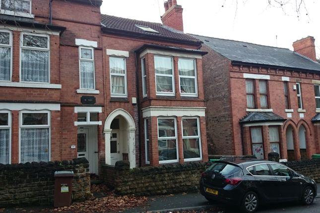 Thumbnail Semi-detached house to rent in Albert Grove, Lenton, Nottingham