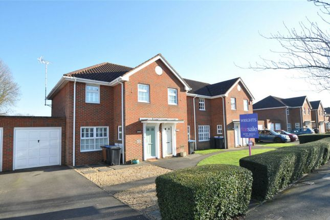 Thumbnail Semi-detached house for sale in Longcroft Lane, Welwyn Garden City, Hertfordshire