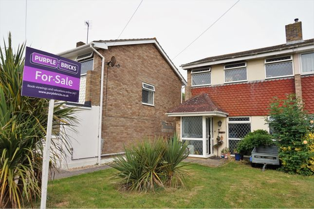 Thumbnail End terrace house for sale in Elm Tree Close, Selsey