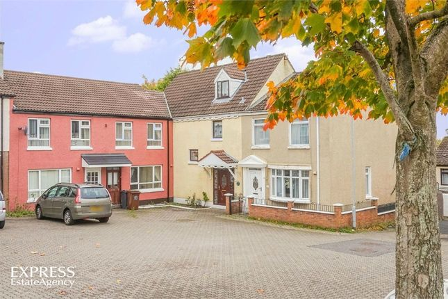 Thumbnail Terraced house for sale in Laurelbank, Dunmurry, Belfast, County Antrim