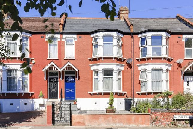 Thumbnail Terraced house for sale in Warwick Road, London