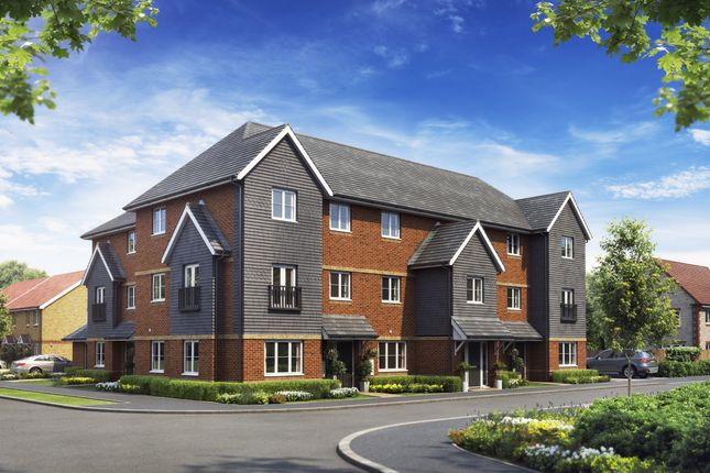 Thumbnail Flat for sale in Clover Fields, Didcot