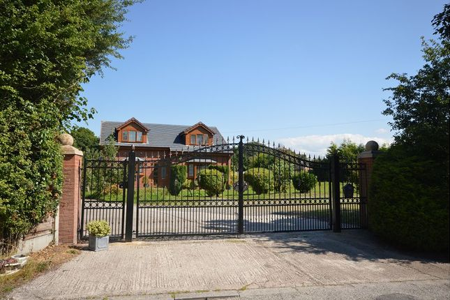 Thumbnail Detached house for sale in Newcastle Road, Sandbach