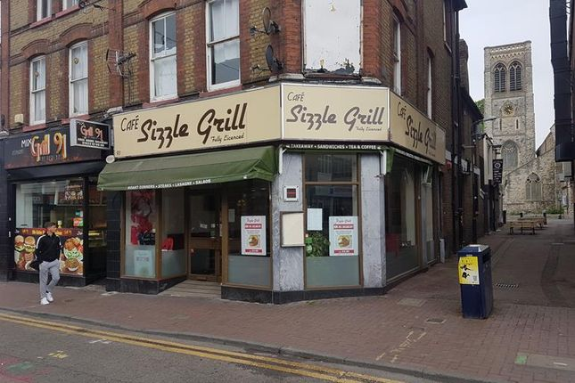 Thumbnail Restaurant/cafe to let in Week Street, Maidstone, Kent