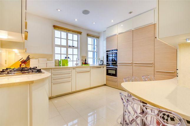 Kitchen of Chiltern Court, Baker Street, London NW1