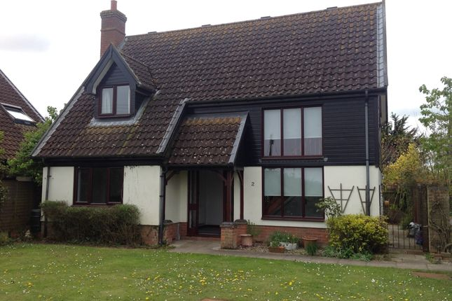 Thumbnail Detached house to rent in Fir Tree Close, Weybread