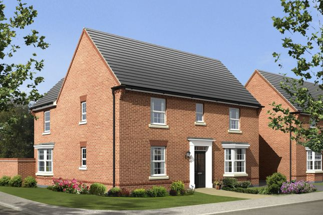 "Thumbnail Detached house for sale in ""Layton"" at Newport Road, St. Mellons, Cardiff"