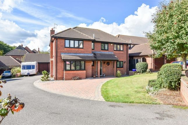 Thumbnail Detached house for sale in Thistledown, Highwoods, Colchester, Essex