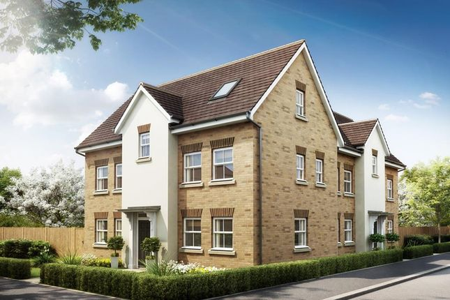 "Thumbnail Semi-detached house for sale in ""Hesketh"" at Southern Cross, Wixams, Bedford"