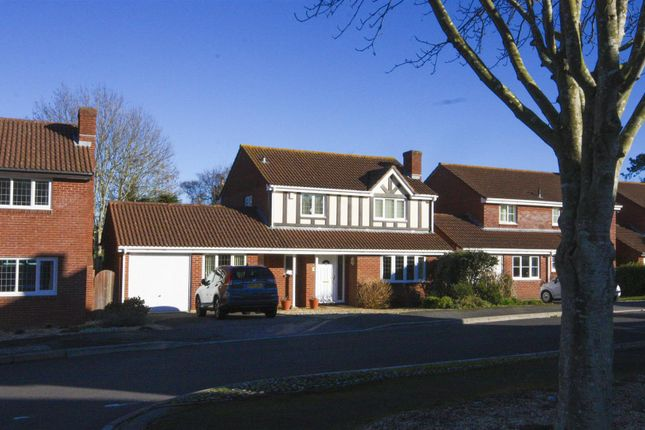 Thumbnail Detached house for sale in Purbeck Close, Weymouth