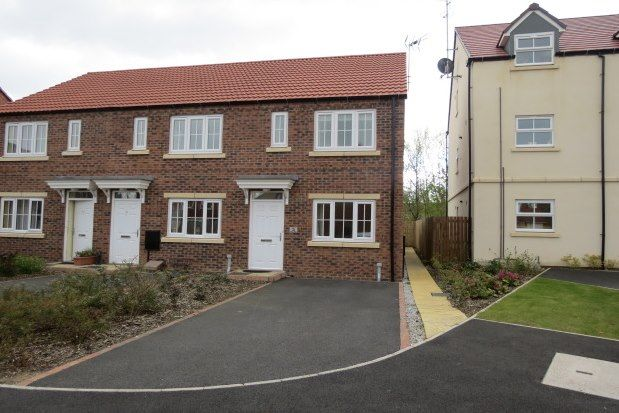 Thumbnail End terrace house to rent in Dairy Way, Malton