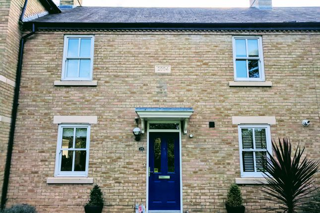 Thumbnail Terraced house to rent in Palmerston Way, Fairfield, Hitchin