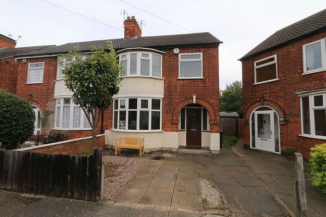 Thumbnail Semi-detached house for sale in Exmoor Avenue, Leicester, Leicestershire