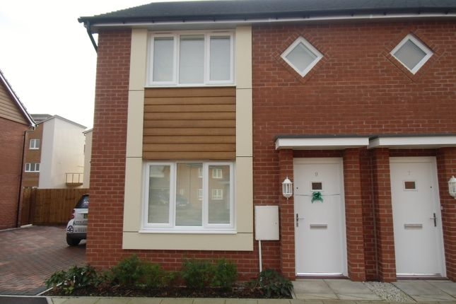 Thumbnail Semi-detached house to rent in Hattersley Way, Leicester