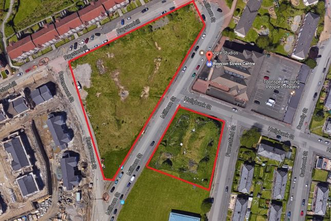 Thumbnail Land for sale in Millburn Street, Glasgow