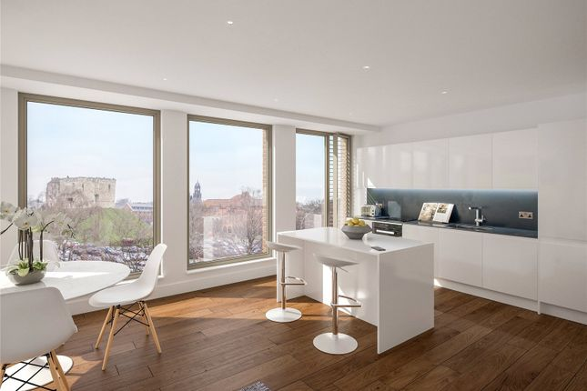 Thumbnail 1 bed flat for sale in Ryedale House, 58-60 Piccadilly, York