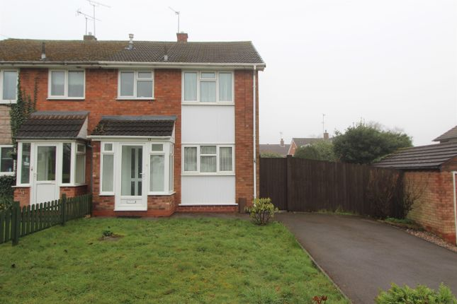 Thumbnail Semi-detached house to rent in Hay Hill, Walsall
