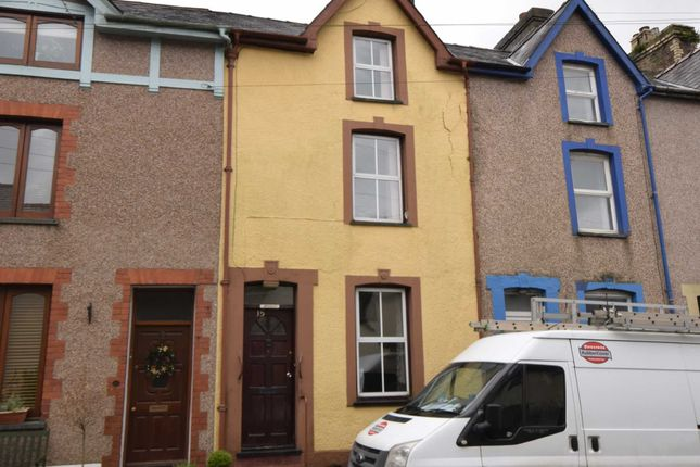 Thumbnail Terraced house for sale in 15 Poplar Road, Machynlleth, Powys