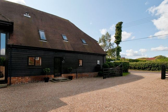 Thumbnail Barn conversion for sale in Lower Twydall Lane, Gillingham