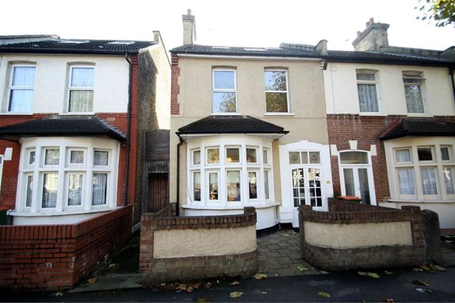 Thumbnail End terrace house for sale in Monmouth Road, East Ham, London