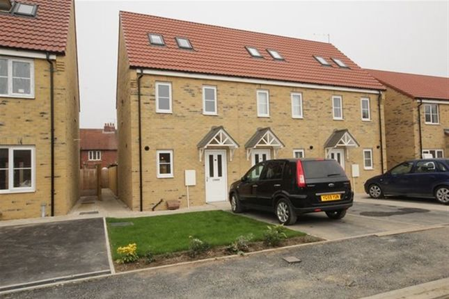 Thumbnail Terraced house to rent in Blackthorn Close, Selby