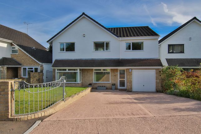 Thumbnail Detached house for sale in Millrace Close, Lisvane, Cardiff