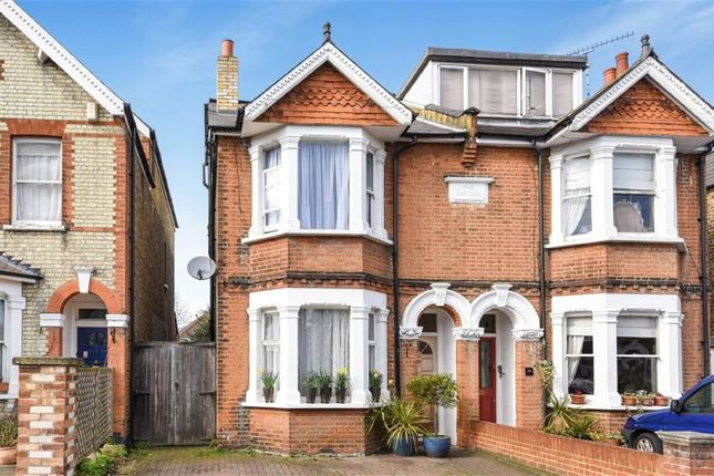 Thumbnail Semi-detached house for sale in Durlston Road, Kingston Upon Thames
