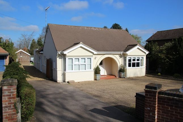 Thumbnail Detached house for sale in Norwich Road, Wymondham