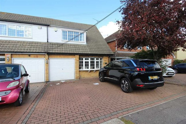 Thumbnail Semi-detached house for sale in The Crescent, Hadleigh, Benfleet