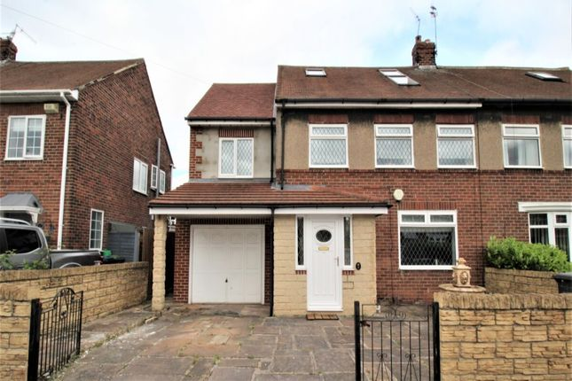 Thumbnail Semi-detached house for sale in College Road, Hebburn